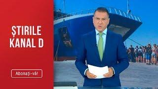 Stirile Kanal D (14.08.2019) - Cosmar fara sfarsit! Romani captivi in Grecia! Editie de s ...