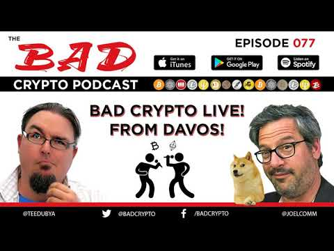 Bad Crypto Live from Davos