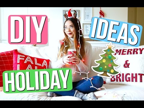 TESTING Holiday DIYs! | Meredith Foster