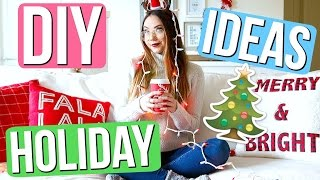 DIY Holiday Room Decor, Gifts, & more! | Meredith Foster