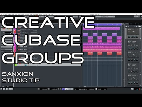 Using Cubase Groups in a More Creative Way Than The Usual