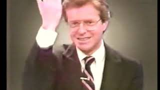 Jerry Springer 1983-1987 News Anchor Bloopers & Outtakes - WLWT Cincinnati Ohio 80s