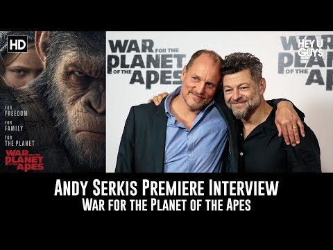 Andy Serkis Premiere Interview - War for the Planet of the Apes