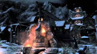 The Elder Scrolls V Skyrim | full trailer (2011) XBox 360 Max von Sydow