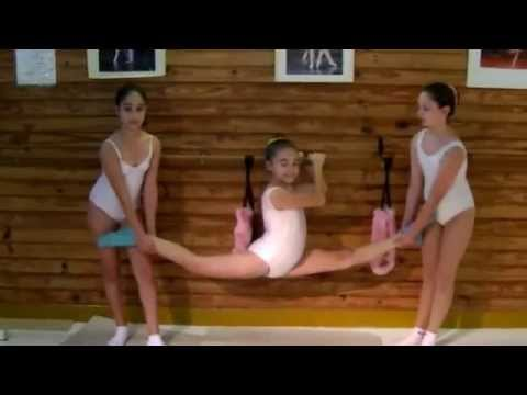 Escuela Sudamericana de Ballet-7th part- More Ballet stretchings-Flexibility exercises-Ballet class