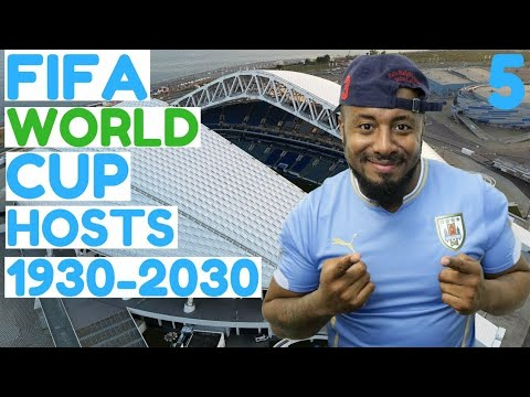 All FIFA World Cup Hosts 1930-2030