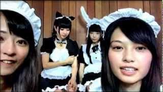 メイド服 隔週火曜19:00~Showroomで配信中 日本ツインテール協会発アイ...