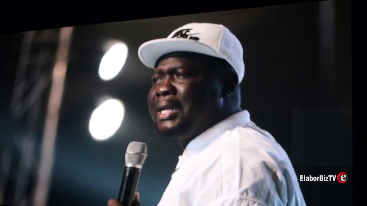 Download Seyi Law 'Cracks Ribs' at Glo Laffta Fest in Ghana