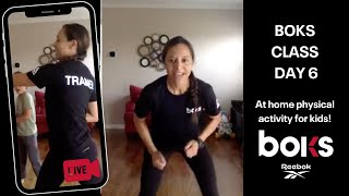At Home BOKS Class Superhero Workout With Diana!