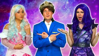 SHOULD DESCENDANTS 3 MAL OR AUDREY MARRY BEN? (Queen of Mean Part 2) Totally TV Parody
