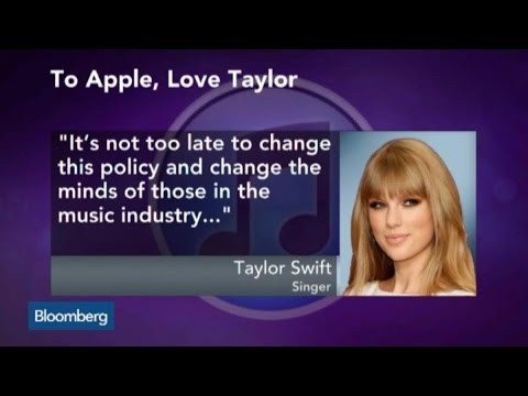 Taylor Swift Pulls Album From Apple Music