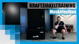 Workout: Kraftzirkeltraining für den Muskelaufbau 💪