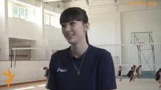 カザフスタンの美少女バレー選手 アルシンベコバ・サビーナ④ thumbnail