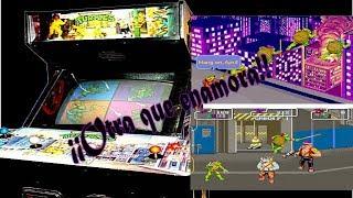 Tortugas Ninja - Arcade - 1989 - Basado en la serie animada de 1987