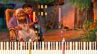Remember Me Recuérdame Lullaby Pixar 39 s COCO Piano Tutorial Synthesia
