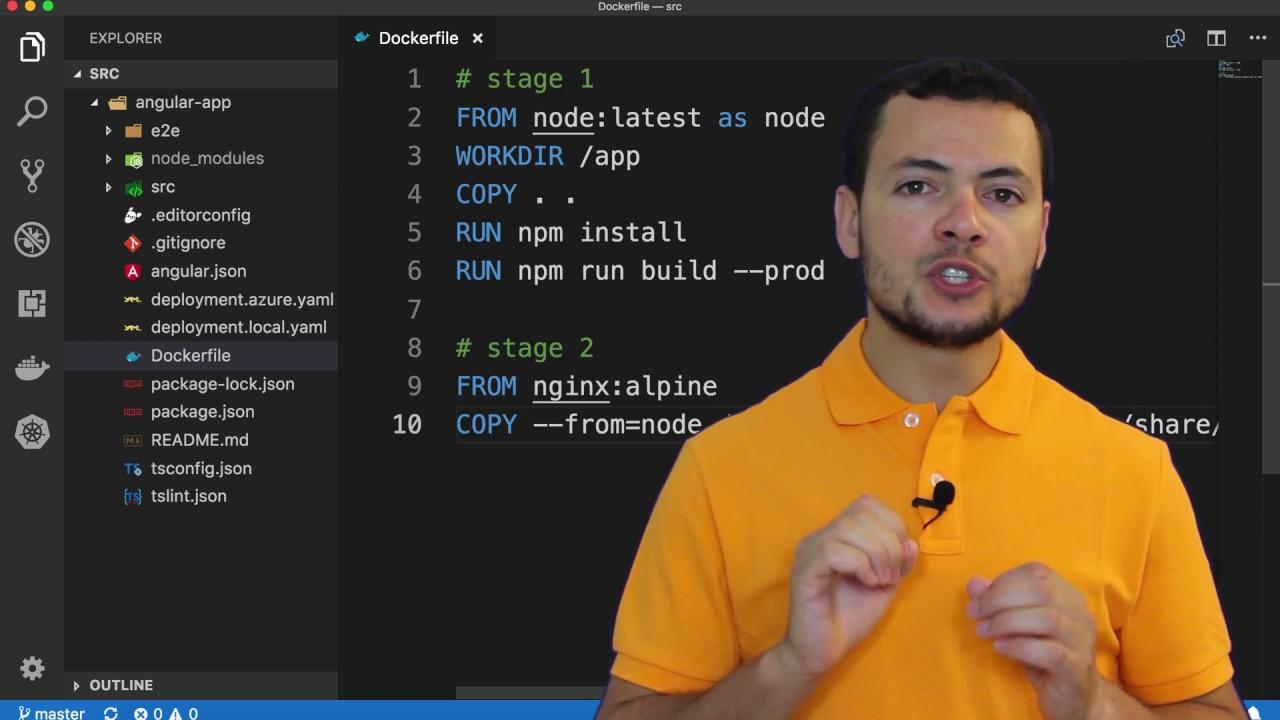 Create Angular App and Deploy it to Docker Hub