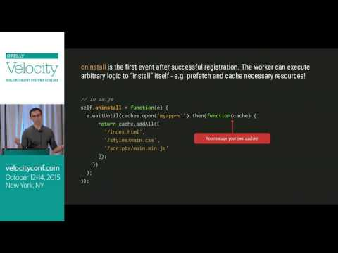 There is a client-side proxy (ServiceWorker) in your browser! - Velocity NYC 2015