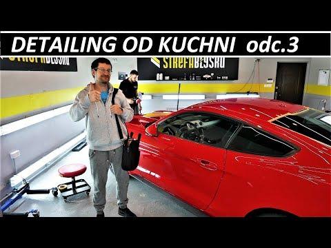 DETAILING OD KUCHNI - odc.3 INSPEKCJA & KOREKTA LAKIERU - Ford Mustang GT V8 VLOG