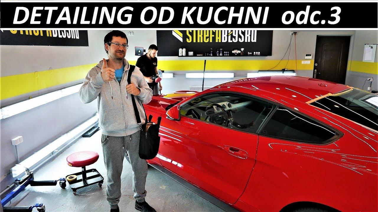 DETAILING OD KUCHNI – odc.3 INSPEKCJA & KOREKTA LAKIERU – Ford Mustang GT V8 VLOG