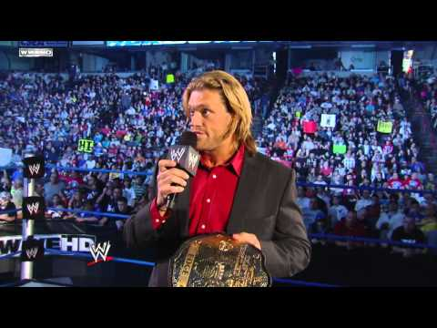 SmackDown: Edge leaves the World Title to the WWE Universe