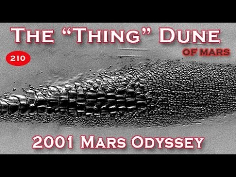 """The """"Thing"""" Dune Of The North Polar Region Of Mars"""