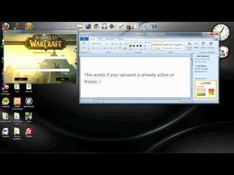 World of Warcraft Free Gaming Time