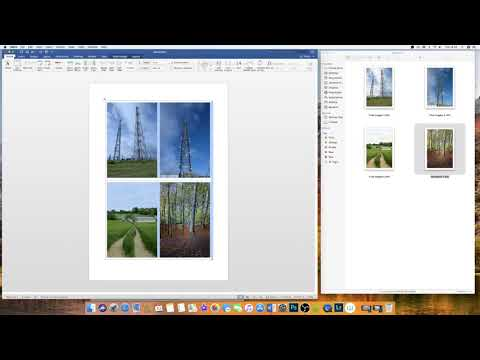 Insert Images Into Word Document Table - (Without Images Resizing Themselves) - 2018