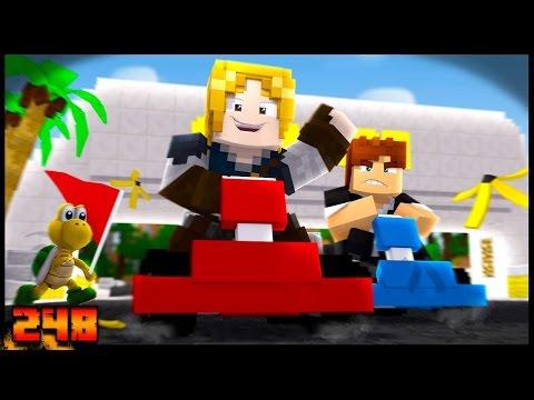 CORRIDA DE GELO NO INFERNO!! Ft.DaviGamer - Forever Mapa #248 - Minecraft