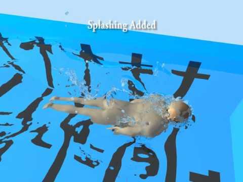 ACM TOG 2014 paper: Realistic Biomechanical Simulation and Control of Human Swimming