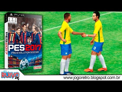 Pro Evolution Soccer 2017 (PES Masters 2017) no PSP / Playstation Portable