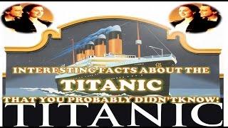 THE TITANIC | TITANIC INFORMATION | TITANIC REAL STORY | WOW SUPER GURU