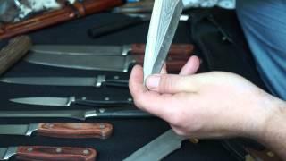 Много ножей на ремонт заточку и восстановление(О заточке недорогих кухонных ножей, способ повысить стойкость режущей кромки... Ножи ручной работы, качеств..., 2014-05-05T09:09:10.000Z)