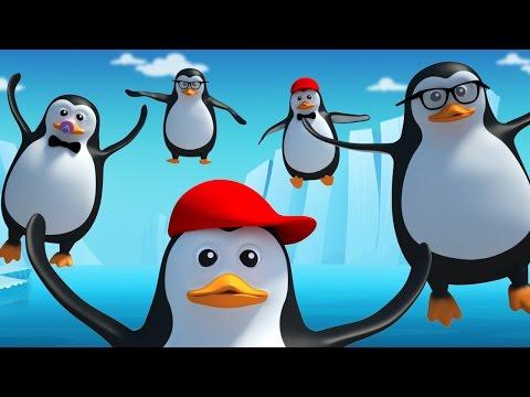 Five Little Penguins  Nursery Rhyme  Kids Songs  Kids Tv Nursery Rhymes For Children