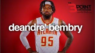 """DeAndre' Bembry and the """"rebuild"""" buzz #hawks #hawksmediaday #atlantahawks"""