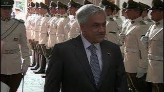 Las últimas horas de Sebastián Piñera en La Moneda
