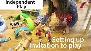 Independent Play - Encouraging Independent Play With Invitation To Play