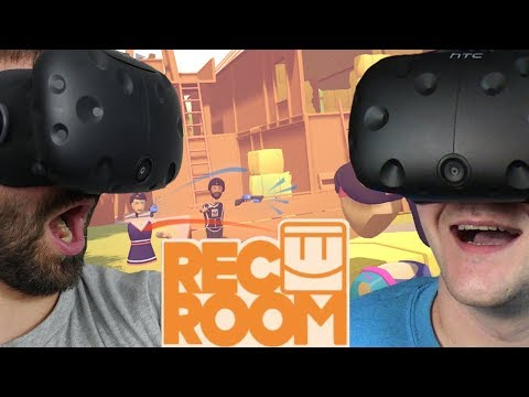 WIRTUALNY PAINTBALL (ft. Sou Shibo) - Rec Room (HTC VIVE VR)