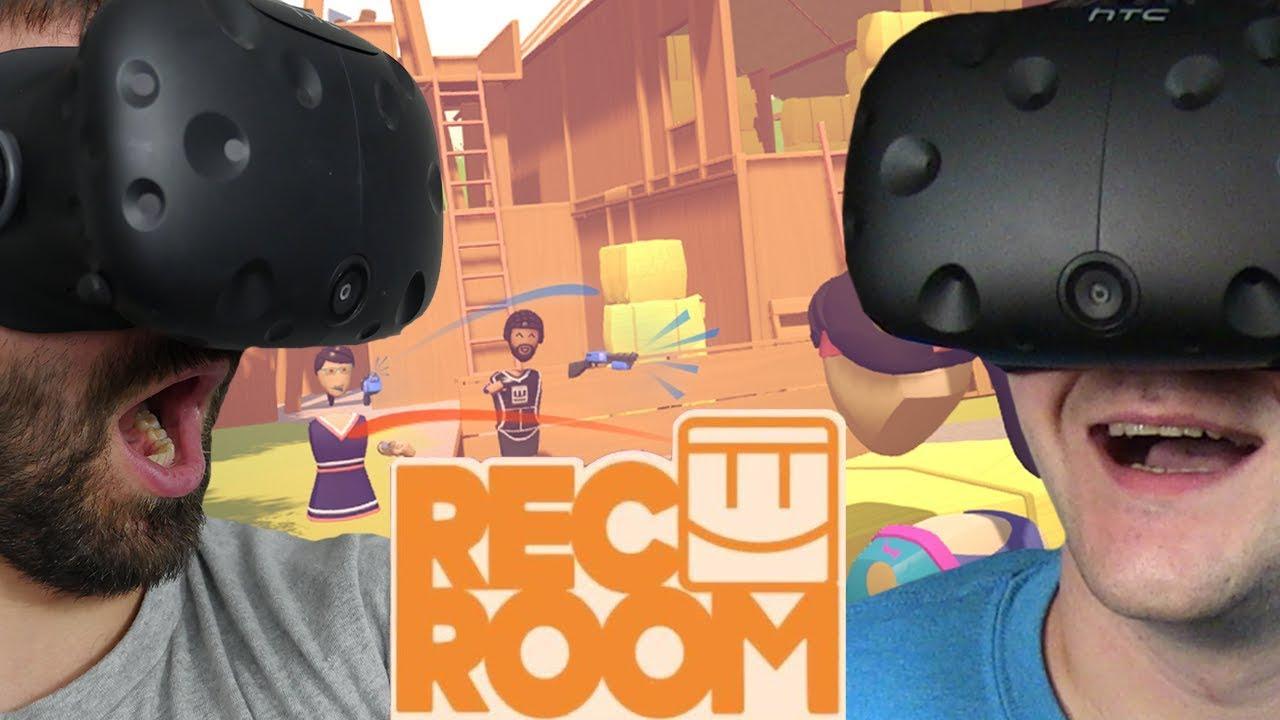WIRTUALNY PAINTBALL (ft. Sou Shibo) – Rec Room (HTC VIVE VR)