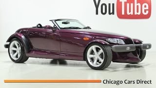 Chicago Cars Direct Presents a 1997 Plymouth Prowler Roadster. Purple/Agate. X13496