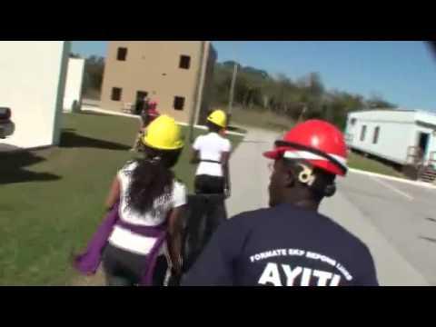 "CERT Training ""Pou Ayiti"" in Creole at IRSC"