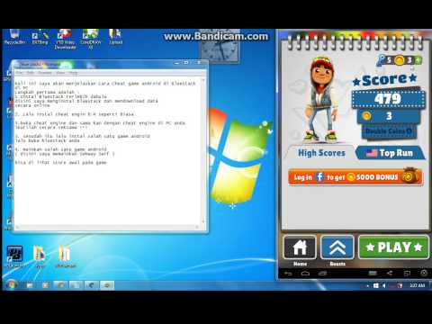 Tutorial Cara Cheat Game Android di Bluestacks PC