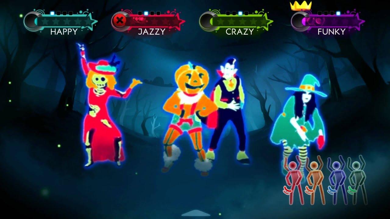 just dance 3 happy halloween 2011 youtube - Just Dance 3 Halloween