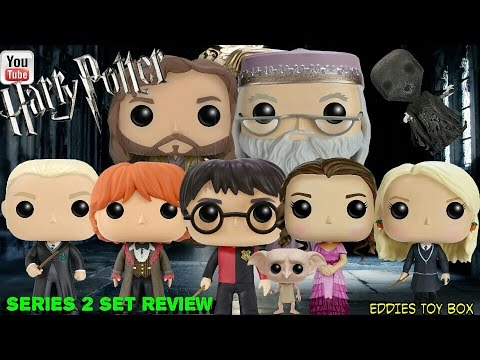 78468fbb2ee Funko Pop! Harry Potter  Harry Potter Series 2 Complete Set Review!  (Commons!)