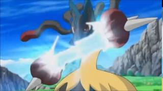 Mega Lucario vs Mega Mawile (Korrina vs Maple)