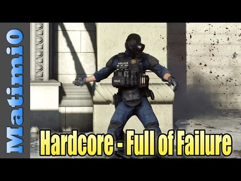 Hardcore - Levelcap Is A Terrible Teammate - Battlefield Hardline