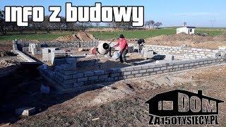 Info z budowy. #domza150tysiecy.pl #zróbtosam #jaktozrobić #budowadomu