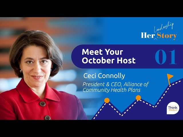 Meet Your October Host with Ceci Connolly   S1E1 Her Story
