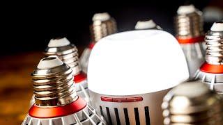 Aputure B7c 8-Light Kit Review | The BEST RGB Smart Bulb Just Got BETTER