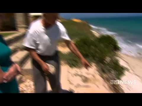 Erosion Threat | 9 News Perth