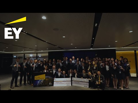 EY Cyber Asia Case Competition, Hong Kong, 24 March 2018 highlights